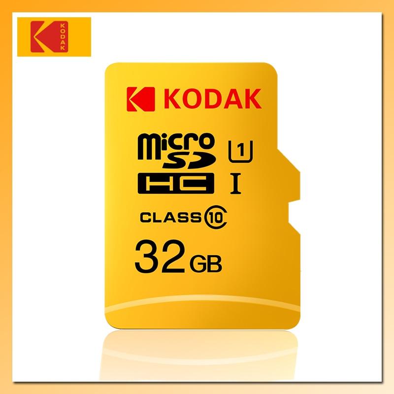 Карта памяти KODAK tarjeta Micro SD, 128 ГБ, 64 ГБ, 32 ГБ, 16 ГБ, карта Micro SD 256 ГБ, 512 ГБ, TF-карта U3, карта памяти Micro SD Clase 10