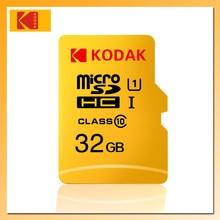 KODAK-tarjeta de Memoria Micro SD de 128GB, 64GB, 32GB, 16GB, 256GB, tarjeta TF de 512GB, U3, Clase 10