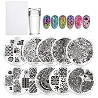 10pc Nail plates set