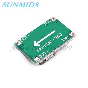Image 3 - 10pcs rc 비행기 모듈 mini 360 DC DC 벅 컨버터 스텝 다운 모듈 4.75 v 23 v ~ 1 v 17 v 17x11x3.8mm mini360 new lm2596