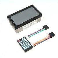 hot 2 Din 7021B Bluetooth 7 Inch Screen Display Aux Input Auto Car DVD FM/MP5 Player Vehicle Rear View Camera Input