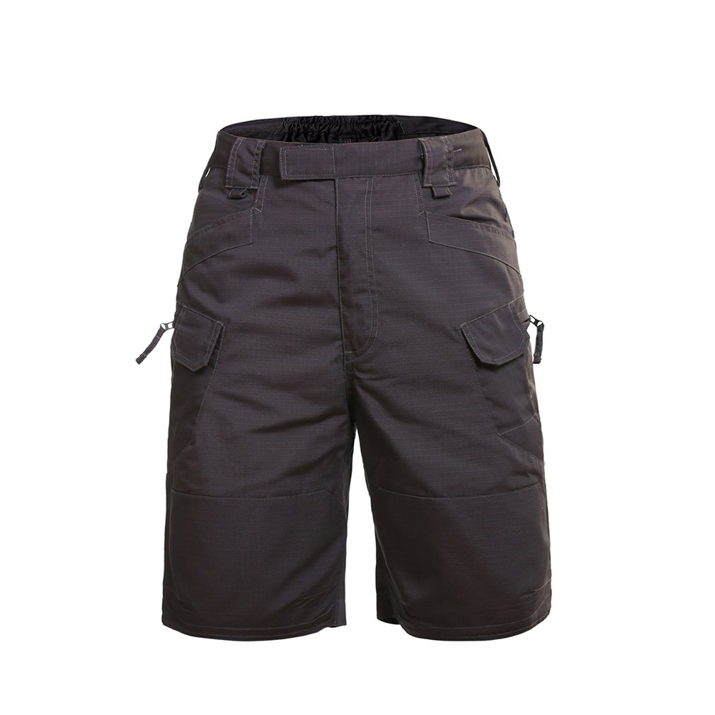 Comfortable Summer Military Waterproof Tactical Cargo Hiking Shorts Teflon Camouflage Army Military Men Climbing BDU Shorts Hunting Pants     - title=