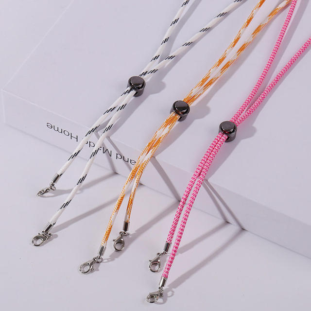 DFHT 10pcs Adjustable Mask Lanyard Handy Convenient Eyeglasses Hanging Rope