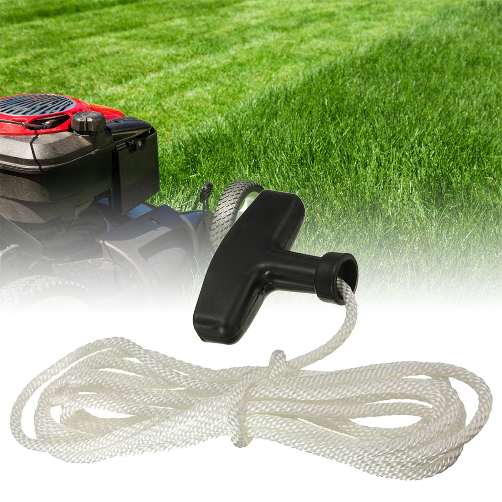 3m Universal Plastic And Polyester Handle Lawn Mowers Trimmer Pull Handle Engine Recoil Start Cord Line Rope Lawn Mowers Tools