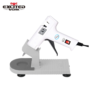 Image 1 - 40W Hot Melt Glue Gun Glue Stick Industrial Mini Gun Professional Base Hot Temperature Tool Bracket 7mm Set By EXCITEDWORK