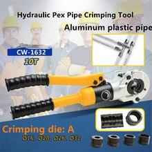 Гидравлический pex трубы обжимной инструмент для труб с U16-32mm GC-1632 до 10 ти лет