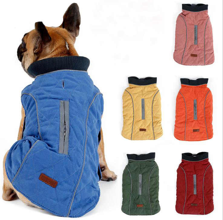 Pets Clothes Winter Warm Pet Dog Jacket Coat Puppy Christmas Clothing Hoodies For Small Medium Dogs Puppy Yorkie Dog XS-3XL