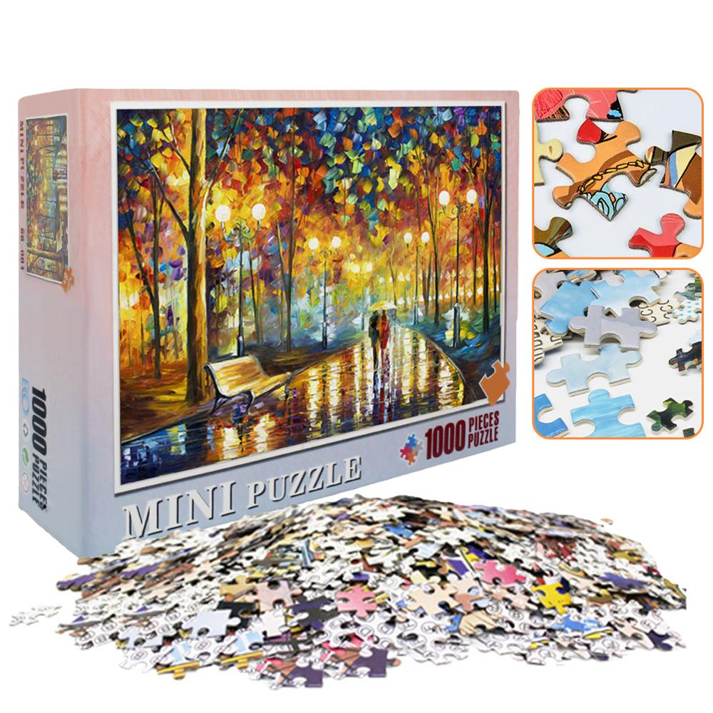 2020 Adults Puzzles 1000 Pieces Educational Games Toys Large Puzzle Game Interesting Educational Toys Personalized Gift Newest