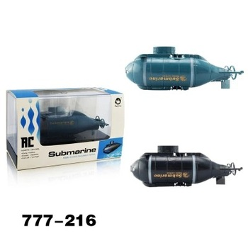 Golden Light 777-216 Six-way Joint Mini Wireless Remote Control Submarine Remote Control Boat Strange New Toy