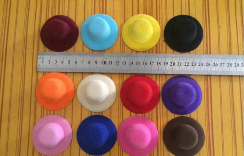 9 สีตุ๊กตาหมวก Headwear อุปกรณ์เสริมสำหรับตุ๊กตาของขวัญใหม่ของเล่นสำหรับเด็กวันเกิดของขวัญ 1PC