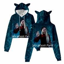 2021 popular Ava Max Cat Ears Hoodie OMG Ava Max Hoodies Women Pullovers Full Sleeve length Casual Clothing Style Hoodie