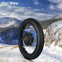 63 70km/h Electric Bike Kit Rear Wheel Fat Bike 3000W Electric Motor 72V Hub Motor Bike ebike Conversion Kit 20 26inch MTB Motor