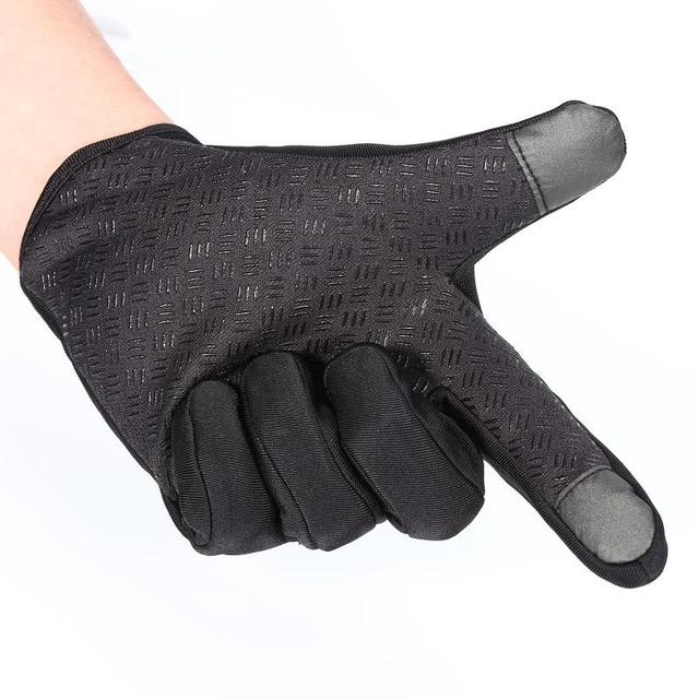 Outdoor Winter Windstopper Gloves Full Finger Gloves Men Women Touch Screen Gloves Bicycle Gloves Winter Warm Mittens 3