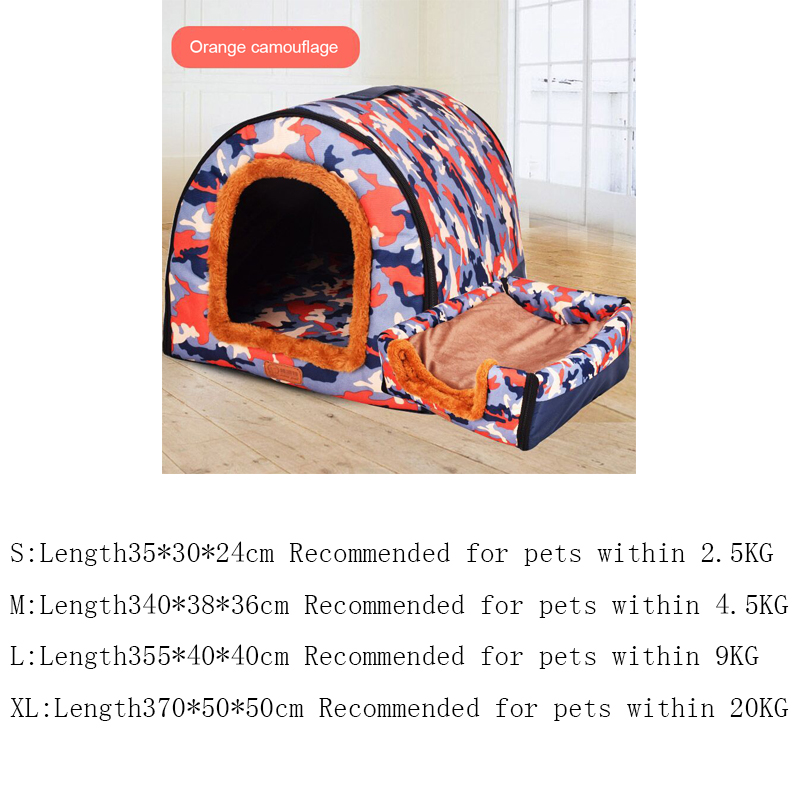 Foldable Warm Dog House // Puppy or Kitten 6