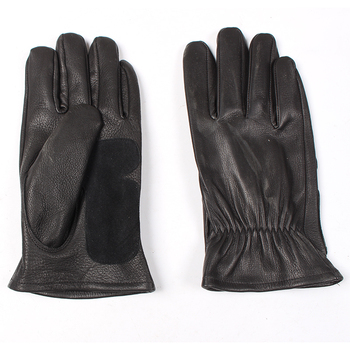 GL-LP4 Super Offer! genuine 0.8mm thick deer leather glove good quality deer leather durable rider Gloves 3 sizes
