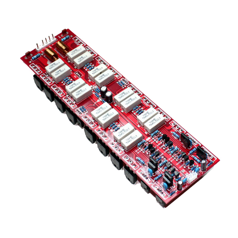 Njw0281/Njw0302 Power Amplifier Board 450W+450W Assembled Amp Board Dc 45V 85V Instrument Parts & Accessories     - title=