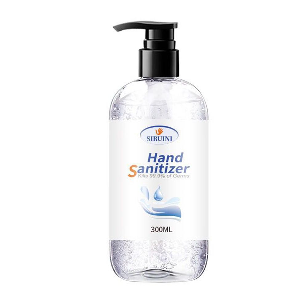 300/500 ml Hand Gel Anti-bacterial Hand Sanitizer 99% Antibacterial Disinfection for Indoors Outdoors Instant Cleaning
