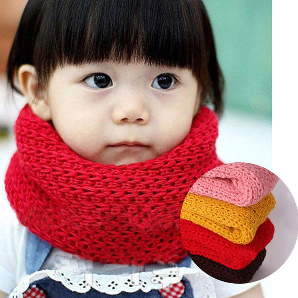 2019 Hot Selling Fashion Kids Long Warm Stars Printed Snood Outdoor Neck Warmer