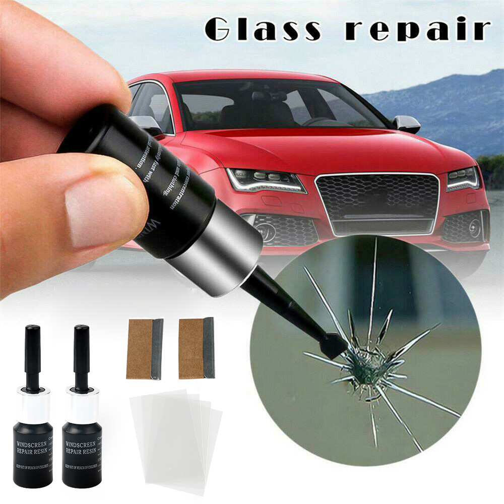 Automotive Glass Nano Repair Fluid Kit Car Windows Crack Chip Maintenance Tool Automobiles Window Repair