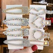 Rhinestone Crystal Pearl Cute BB Clips
