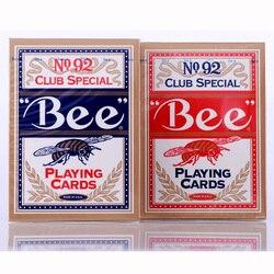 100% Nova NO.1 92 Categoria Cartões De Poker Jogando Cartas Mágicas para o Mágico Profissional