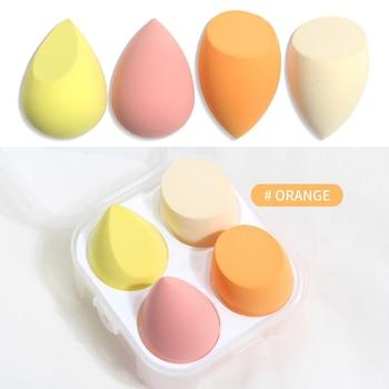 Makeup Sponge Professional Cosmetic Puff Multiple sizes For Foundation Concealer Cream Make Up Soft 2-8pcs Sponge Puff Wholesale 13