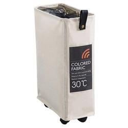 Demir çerçeve sepeti kirli giysiler kova katlanabilir tekerlekli depolama organizatör depolama sepeti dar ızgara örgü kiriş kalınlaşma