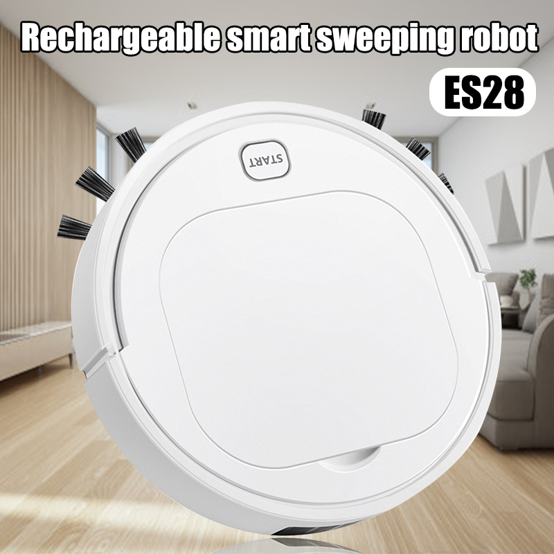 Wireless Sweeping Vaccum Cleaner Robot USB Charging Smart Sweeping Robot J99Store|Brooms & Dustpans| |  - title=
