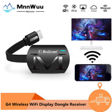 G4 TV stick Wifi Display Receiver DLNA Miracast Airplay Mirror Screen HDMI-compatible Android IOS Mirascreen Dongle