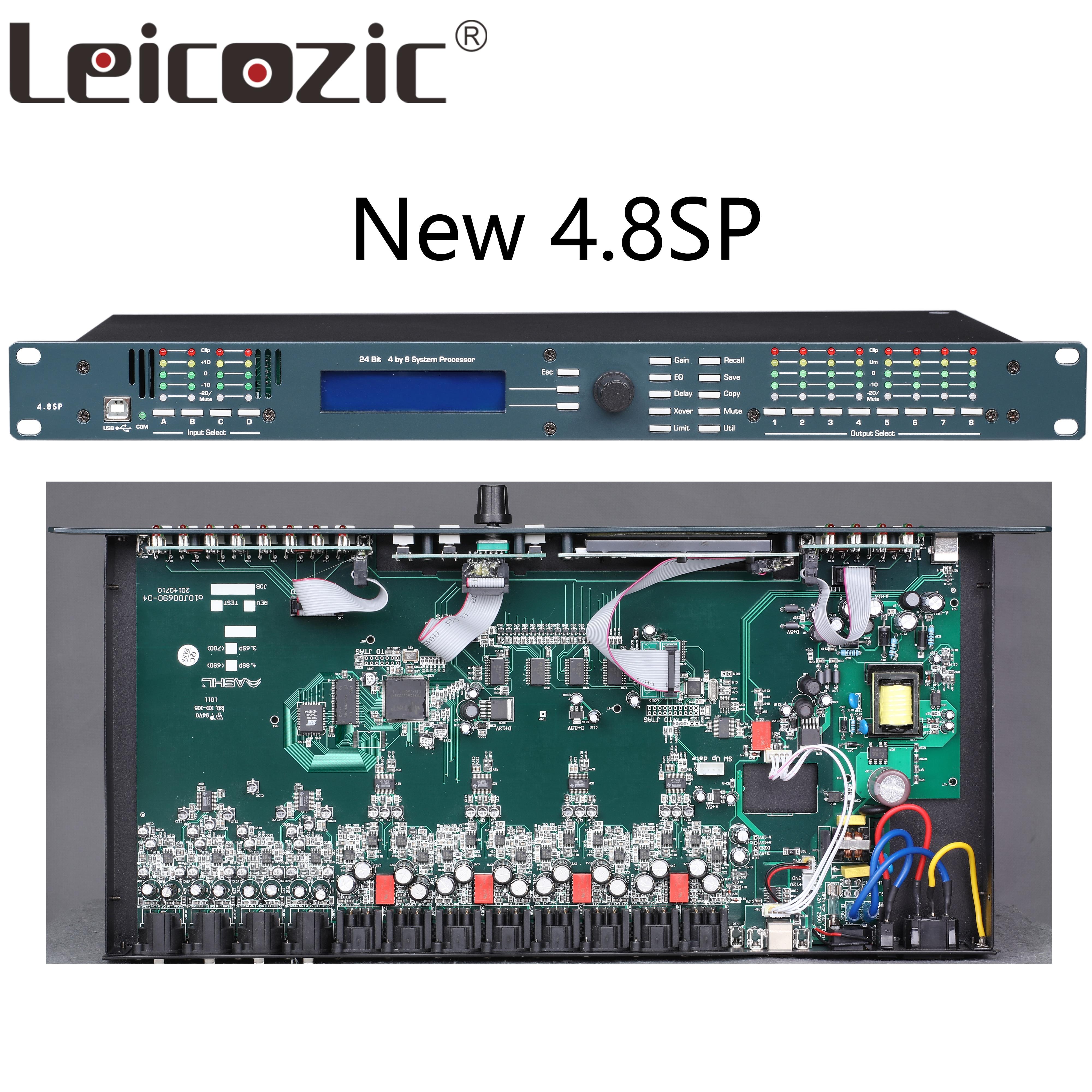 Leicozic 4in/8out 4.8SP Professional Digital Processor speaker management pro audio processor protea pro stage audio equipment