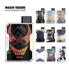 цена на Magic Shark Fashion English Words Venum China 1pc/lot Pod Case Sticker Skin Film for Voopoo Drag Nano Vape