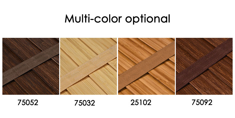 Image 5 - 50mm Bamboo Blinds Ladder type venetian blinds eco frienly Natural Material window Bamboo blinds for home Living room Tea houseBlinds, Shades & Shutters   -