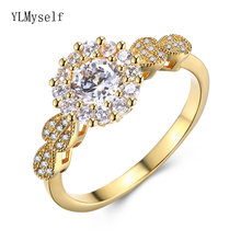 Кристалл палец кольцо День рождения романтический подарок дешево