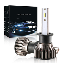 2cps H1 60W 6500K 4000LM led car headlight front bulb high beam low beam lamp white light waterproof auto styling car source
