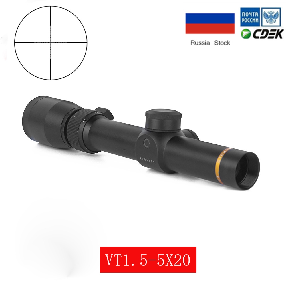 Riflescope Hunting Sight 1.5-5X20 Tactical Rifle Scope Reticle Collimator Sight VX-Freedom AR Options Optical Sight image