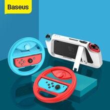 Baseus غمبد حامل علبة ل نينتندو سويتش Joypad حامل حامل غطاء ل نينتندو دوس التبديل اليسار اليمين أذرع التحكم في ألعاب الفيديو Coque