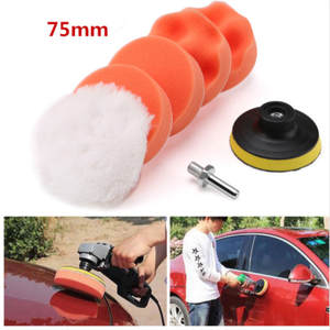 Buffing-Pad-Set Car-Polisher Power-Tools-Accessories Auto Thread for Drill-Adaptor And