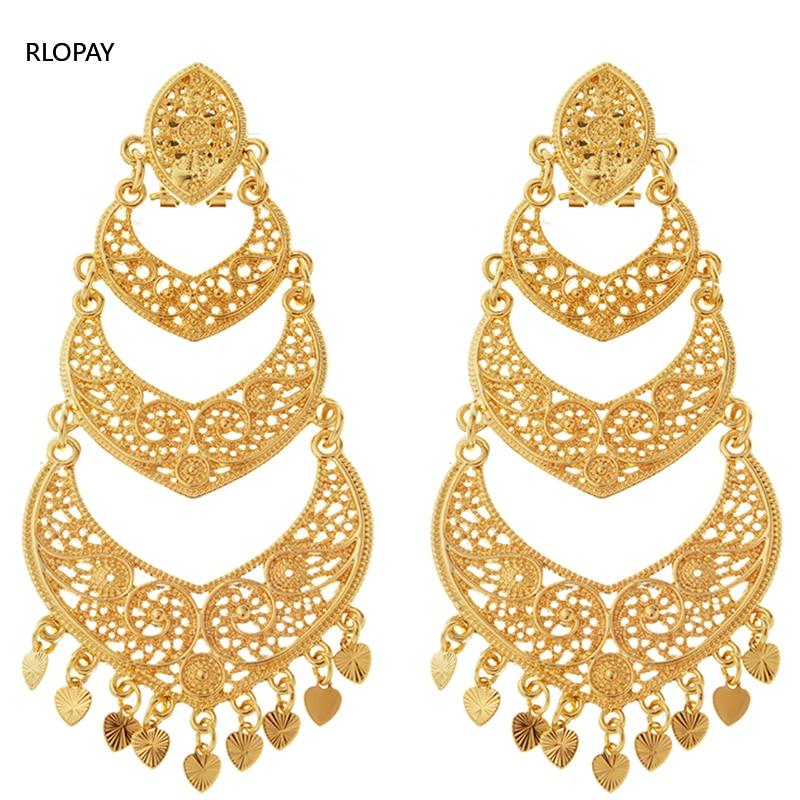 Earrings,Bridal Earrings,Gold Earrings.