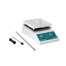 все цены на SH-4 Laboratory Magnetic Stirrer with Heating Stir Plate Magnetic Mixer Hotplate,19x19cm Ceramic Panel, 0~2000RPM,5000ml Volume онлайн