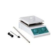 SH 4 laboratoryjne mieszadło magnetyczne z płytą grzewczą mieszadło magnetyczne płyta grzewcza, Panel ceramiczny 19x19cm, 0 ~ 2000 obr/min, objętość 5000ml