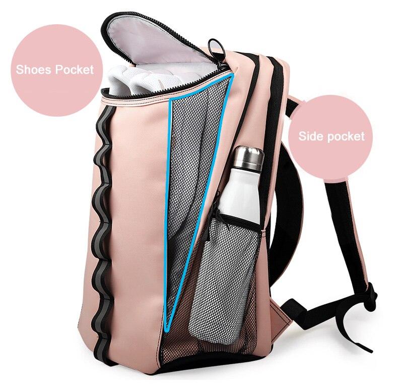 Sack Fitness Gym Bag Yoga Backpack Training Sports Bags Gymtas For Women Sac De Sport Tennis Badminton Dry Wet Rucksack