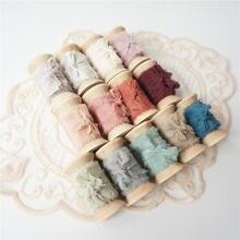 Лента из натурального 100% чистого шелка в стиле ins лента древесных