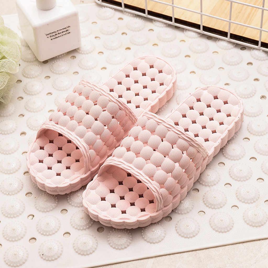 Femmes hommes maison douche piscine sandales unisexe salle de bain semelle souple ménage lapin bain pantoufles intérieur Couple pantoufles Size36-41 #1216