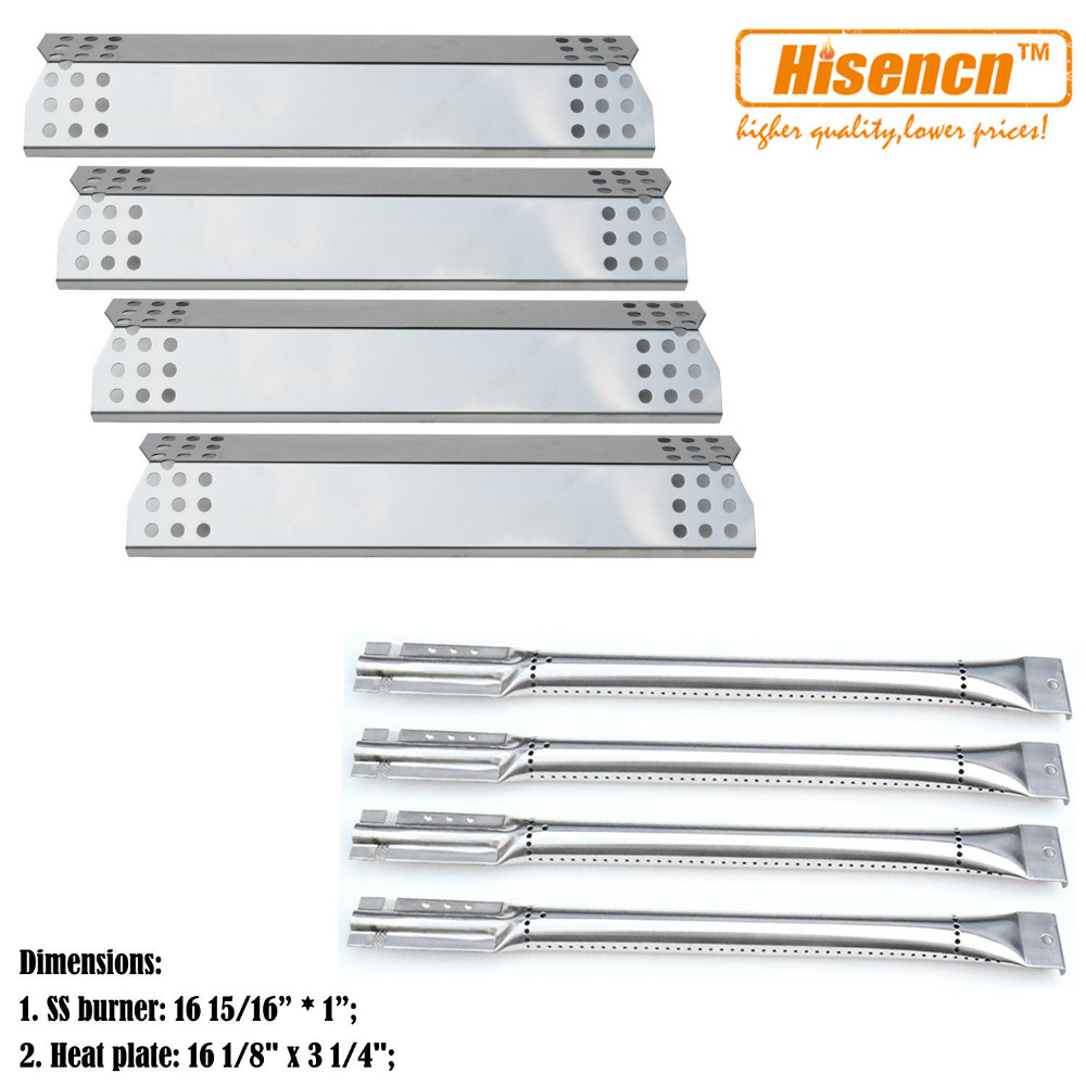 Hisencn Bbq Parts Kit Ss Pipe Gas Grill