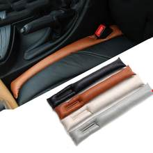 2 pçs assento de carro gap plug leakproof tira gap almofada enchimento universal apto acessórios do carro