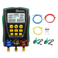 DY517A Pressure Gauge Refrigeration Digital Vacuum Pressure Manifold Tester Leakage Monitor Detector