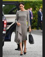 Grey Mother of the Bride Dresses Tea Length 2020 Wedding Party Gown vestido de madrinha Formal Wedding Party Gowns