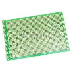 12X18 см односторонняя зеленая масляная универсальная печатная плата с проволочной обмоткой 2. 54 мм интервал