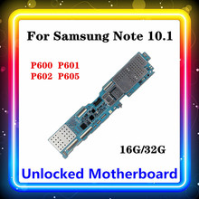 For Samsung Galaxy Note 10.1 P600/P601/P605/P602 Motherboard Test Original Full Use Logic Board With Chip Mainboard Android OS