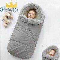 Baby Stroller Sleeping Bag Winter Warm Envelopes For Newborn Thicken Stroller Sleepsacks Infant Windproof Envelopes Sleep Sack